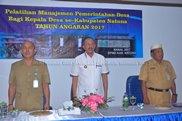 Pelatihan Manajemen Pemerintahan Desa se -Kabupaten Natuna Tahun Anggaran 2017