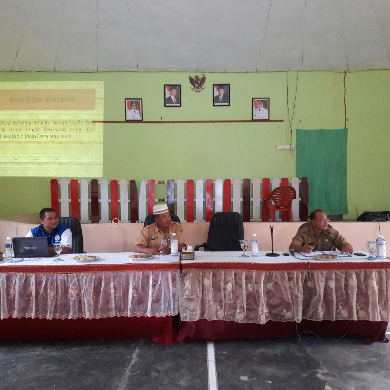 Dinas PMD : Kembangkan Ekonomi Wilayah Melalui Potensi Daerah