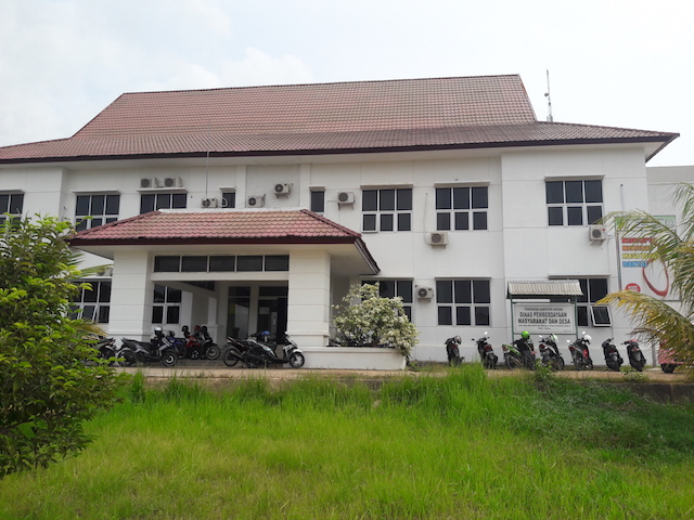 Kantor Dinas Pemberdayaan Masyarakat dan Desa Kabupaten Natuna